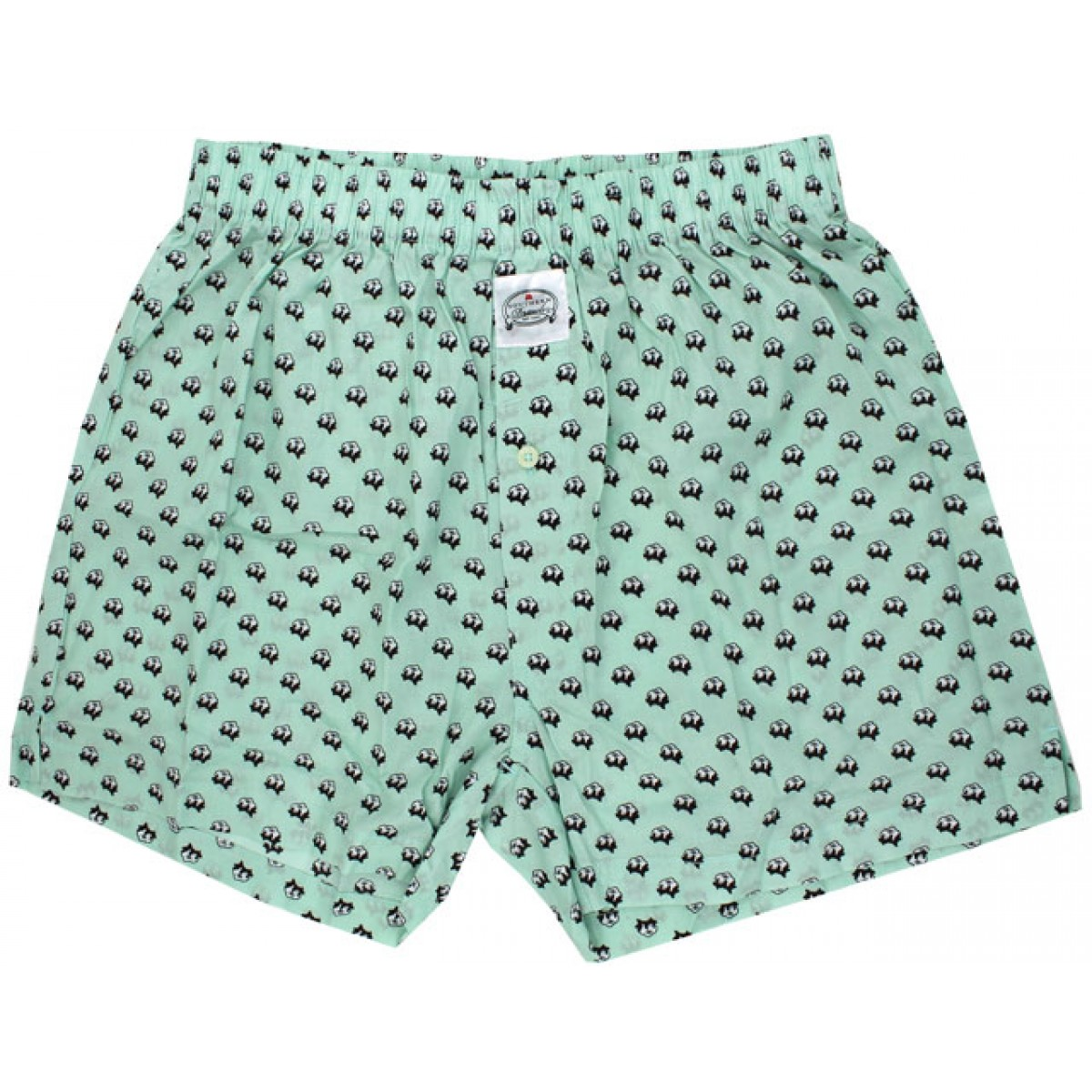 Mint Green Cotton Boll Southern Drawls